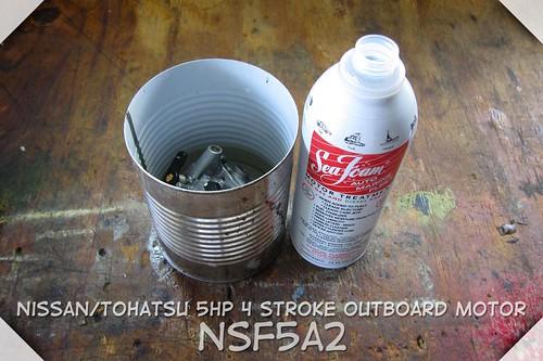 Nissan 5hp 4stroke outboard
