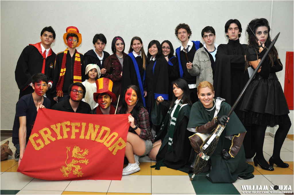 Personagens do filme Harry Potter (cosplay) photo by @WilliamSouza