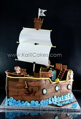 Pirate Ship photo by Kalli Cakes