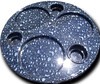Boat Deck Table Blue Water Drops