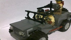 Custom Lego Willy's Jeep photo by Brick-Ops