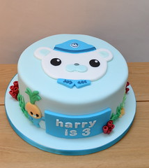 Octonauts Captain Barnacles Birthday Cake photo by madebymariegreen