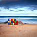 Maroubra Beach Rubiks Cube