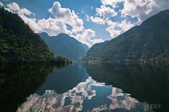 Lake Reflection -///- Hallstatt, Austria photo by N+C Photo