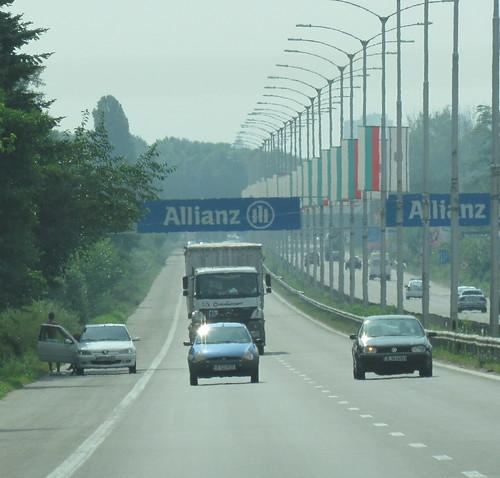 autoroute bulgare : ça change de la Roumanie !