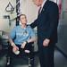 President Bush presents Purple Heart