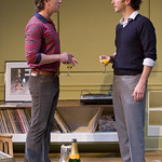 John Sanders (Max) and John Fortunato (Henry) in THE REAL THING at Writers Theatre. Photos by Michael Brosilow.