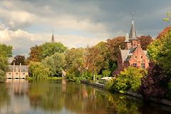 In Bruges 5/7: Minnewater photo by Allard Schager