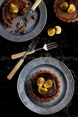 Chocolate Fig Tarts | Fresh Figs in Good Company photo by Gourmande in the Kitchen