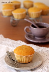 Butter cupcake photo by Savoury Days