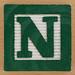 Fridge Magnet Letter N