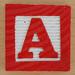 Fridge Magnet Letter A