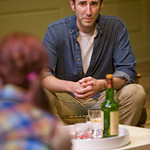 Sean Fortunato (Henry) in THE REAL THING at  Writers' Theatre. Photos by Michael Brosilow.
