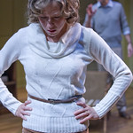 Carrie Coon (Annie) in THE REAL THING in Writers Theatre. Photos by Michael Brosilow.