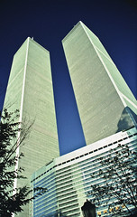 The Twin Towers, World Trade Centre, New York  1994 9/11 photo by Paul in Leeds