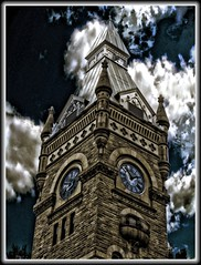Butler PA ~ Butler County Courthouse ~ Tower photo by Onasill