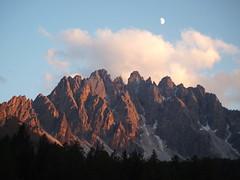 The moon over my mountain - La luna sopra la mia montagna photo by SissiPrincess