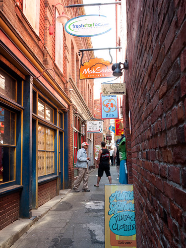 Fan Tan Alley in Chinatown, Victoria