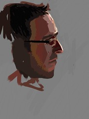 Brother Ipad Paintings photo by ADAM CLAGUE