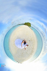 Small Planet wedding at Kuramathi Maldives photo by muha...