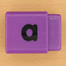 Pushfit cube letter a
