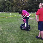 Amy on the segway<br/>11 Sep 2011