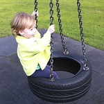 On the tyre swing<br/>22 Sep 2011