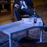 Ryan Hallahan (Brodie) in THE REAL THING at Writers Theatre. Photos by Michael Brosilow.
