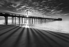 Shadow Play - Capitola Pier, Capitola CA photo by JaveFoto