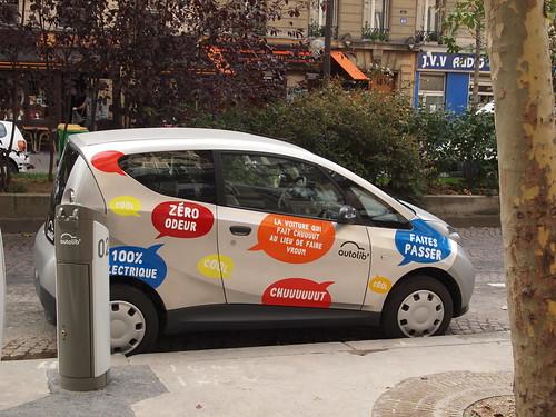激動する自動車:パリで広がるカーシェアリングは自動車のあり方を根底から覆す 1番目の画像