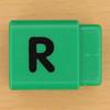 Pushfit cube letter R