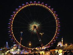 Ferris Wheel at Night photo by Batikart