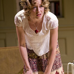 Carrie Coon (Annie) in THE REAL THING at Writers Theatre. Photos by Michael Brosilow.