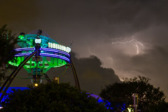 Magic Kingdom - Darkened Tomorrowland photo by Jeff Krause Photography