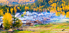 Baihaba village in a beautiful morning photo by Feng Wei Photography