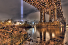 Tribute in Lights 2011, New York City photo by mudpig