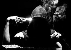I smoke, then I committed  suicide! photo by Saleh Mohammed