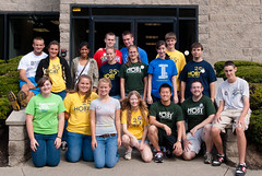 Most of our OUTSTANDING Work Crew! photo by nyealumniadvisor