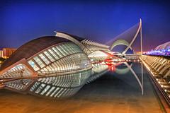 Ciudad de las Artes y las Ciencias, Valencia - 20,0 s à f - 11 - EF-S17-55mm f-2    EXPLORE ! photo by ZX-6R