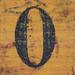 segell de goma mànec nombre 0