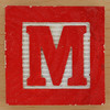 Fridge Magnet Letter M