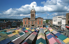 Chesterfield Market Hall & Place - 2002 photo by ken_davis