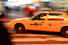 NYC taxi photo by Eivind 84
