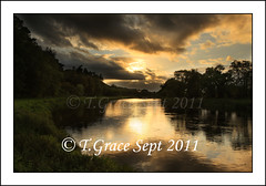 5739  Sunset from O'Briens Near River photo by jonestown_pic /Tom GracePhotography.com