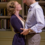 Carrie Coon (Annie) and Sean Fortunato (Henry) in THE REAL THING at Writers Theatre. Photos by Michael Brosilow.