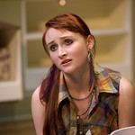 Rae Gray (Debbie) in THE REAL THING at Writers' Theatre. Photos by Michael Brosilow.