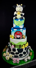 Farm theme cake photo by Design Cakes