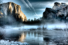 Yosemite Valley View Sunset photo by Bridgeport Mike