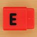 Pushfit cube letter E