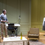 John Sanders (Max) and Natasha Lowe (Charlotte) in THE REAL THING at Writers Theatre. Photos by Michael Brosilow.